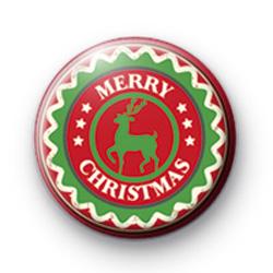 Green Reindeer Merry Christmas