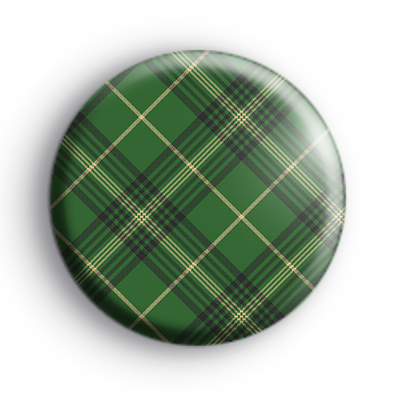 Green Tartan Badge