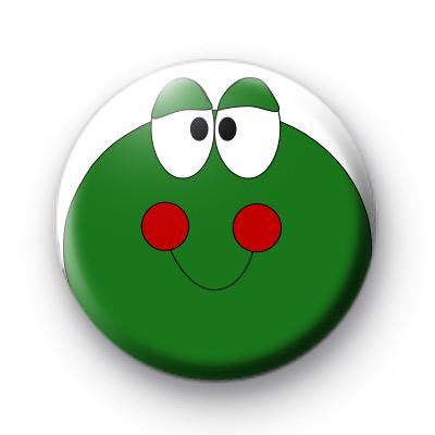 Green Froggy Frog Badge