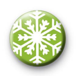 Green Snowflake Badges