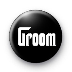 Godfather Style Groom Button Badges