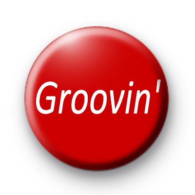 Groovin Deep Red custom Badge