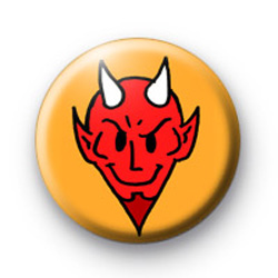 The Devil 666 Halloween Badges