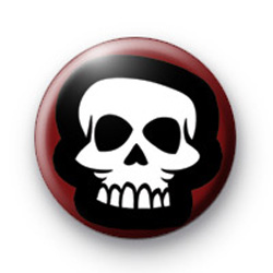 Halloween Spooky Skulz Badge