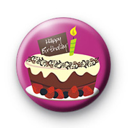 Big Birthday Cake Badge