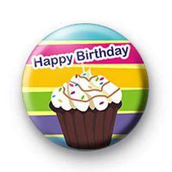 Happy Birthday Cakes Badge