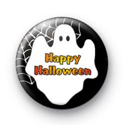 Happy Halloween Ghost Badge