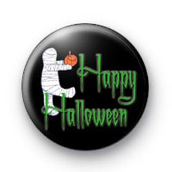 Mummy Halloween badges