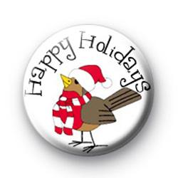 Happy Holidays badges