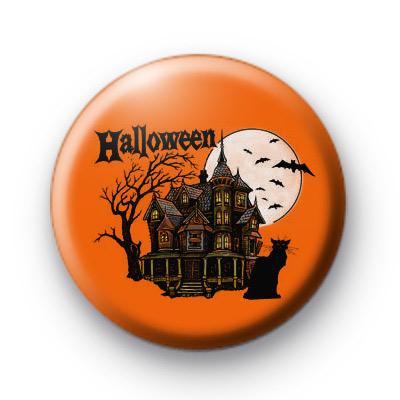 Spooky Halloween Haunted House badge