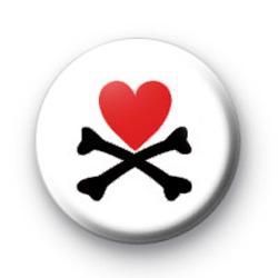 Heart & Crossbones badges