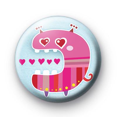 Heart Eater Monster Badge