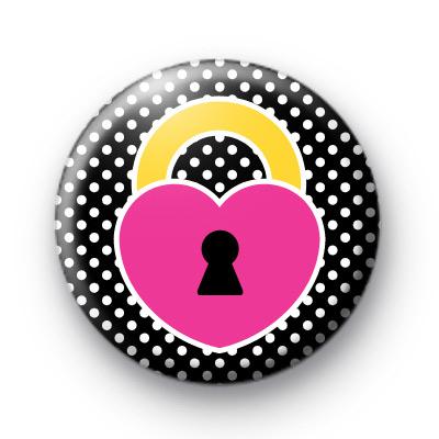Heart Locket Black Badges