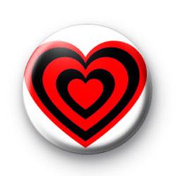 Heart Red Heart badges