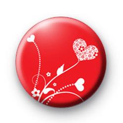 Hearts in flight badge