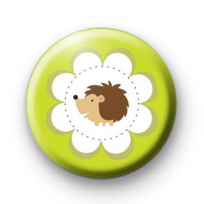 Super Sweet Hedgehog Badge