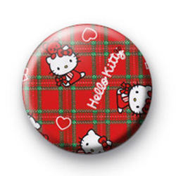 Hello Kitty Red badges