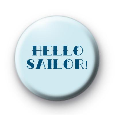 Hello Sailor Blue badge