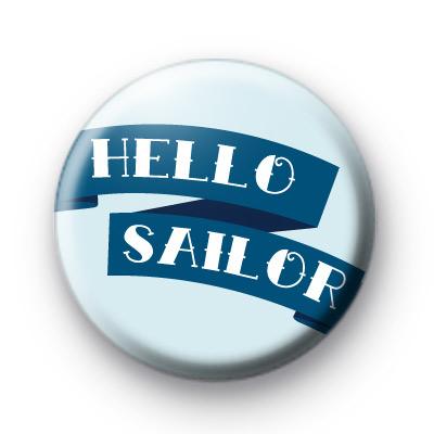 Hello Sailor Banner badge