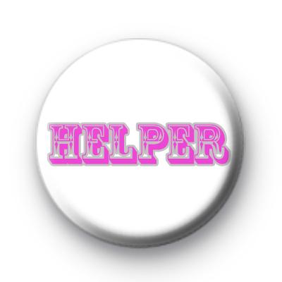 Helper pink Custom badge