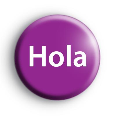 Hello Hola Badge