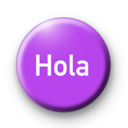 Hello - Hola badges