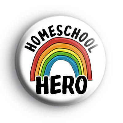Homeschool HERO Rainbow Badge