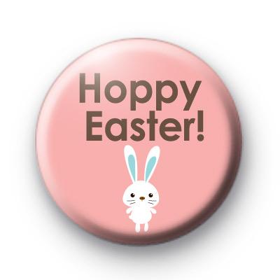 Hoppy Easter Button Badges