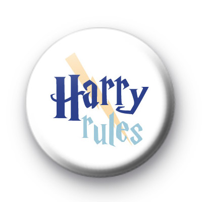 Harry Rules Wizard Button Badges