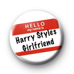 Hello I'm Harry Styles Girlfriend Badge