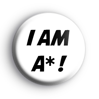 I Am A Star Badge