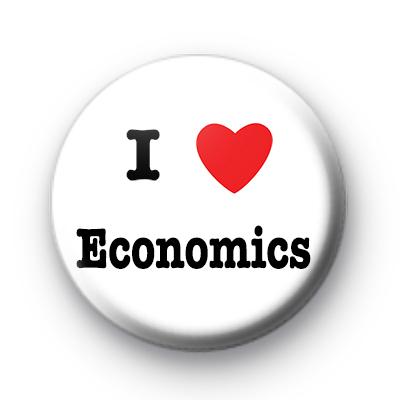 I Love Economics badge