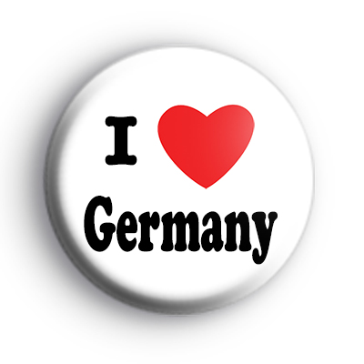 I Love Germany Badge