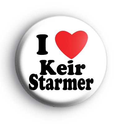 I Love Keir Starmer Badge