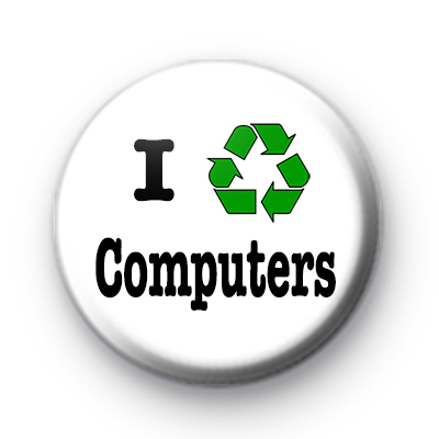 I Recycle Computers badges