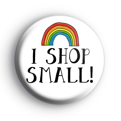 I Shop Small Badge