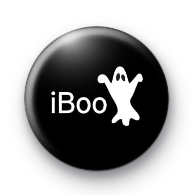 iBoo Ghost Button Badges