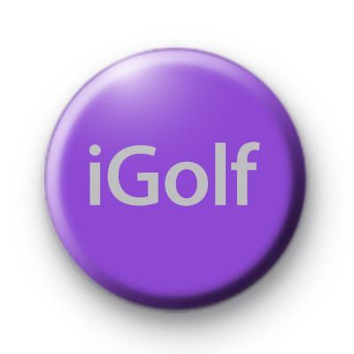 iGolf Button Badges