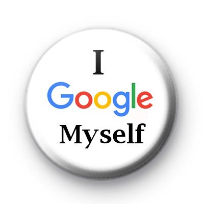 I Google Myself badges