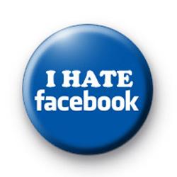 I Hate Facebook Button Badges