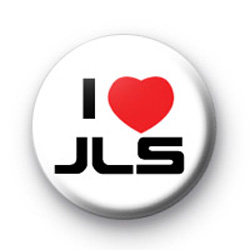 I Love JLS band badges