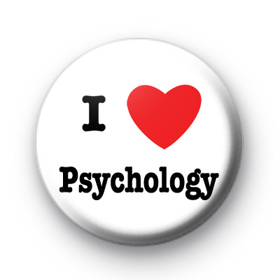 I Love Psychology badge