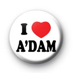 I Love Amsterdam A'DAM Badges