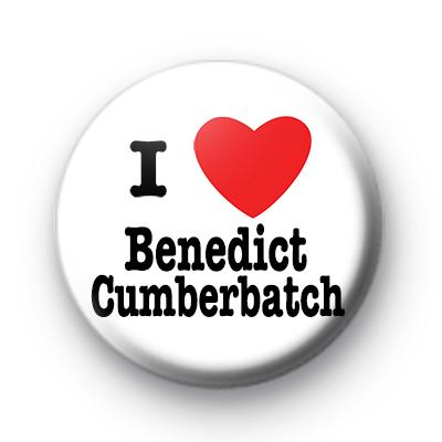 I Love Benedict Cumberbatch Badge