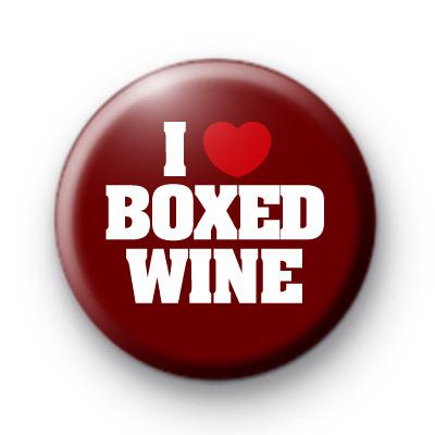 I Love Boxed Wine badge