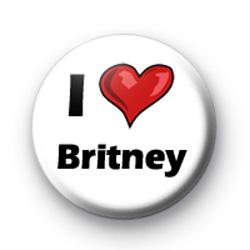 I Love Britney badges