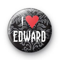 I Love Edward Cullen 2 badge