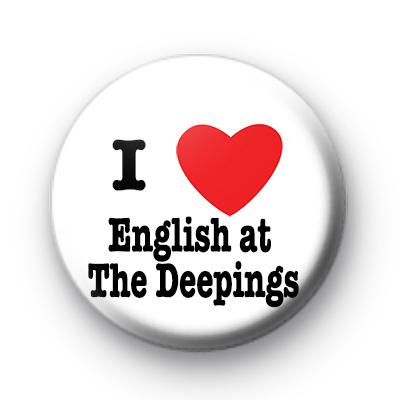 I Love English at The Deepings badge