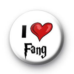 I Love Fang Harry Potter Badges