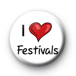 I Love Festivals badges